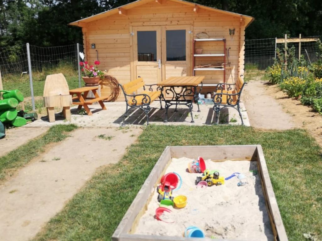Sandspielplatz für die Kleinen